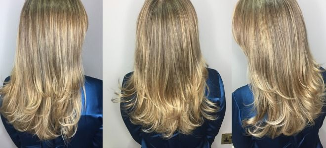 Лучшее окрашивание для седых волос два