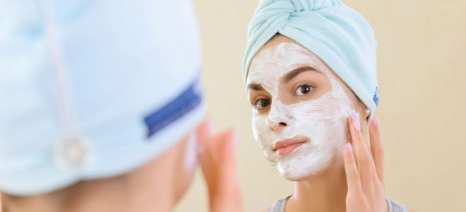 Как сделать маску из крахмала для лица