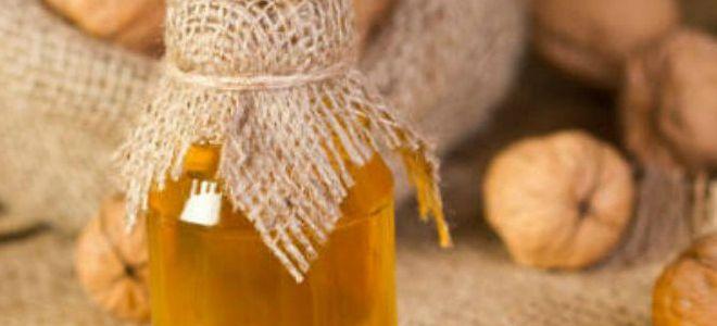 масло грецкого ореха применение в медицине
