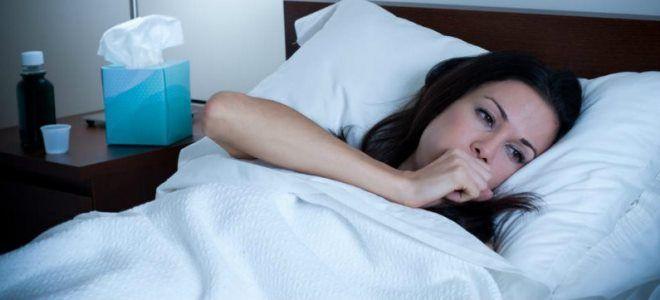 ночной кашель после простуды