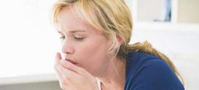 сильный влажный кашель