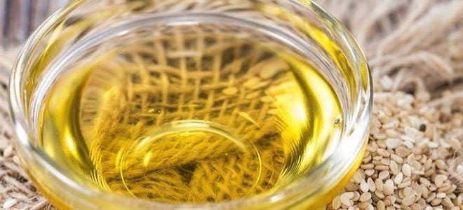 кунжутное масло состав