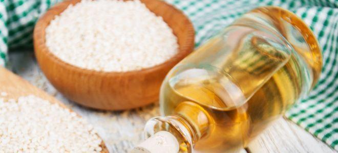 кунжутное масло польза и вред