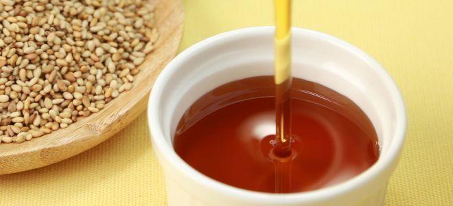масло белого кунжута польза
