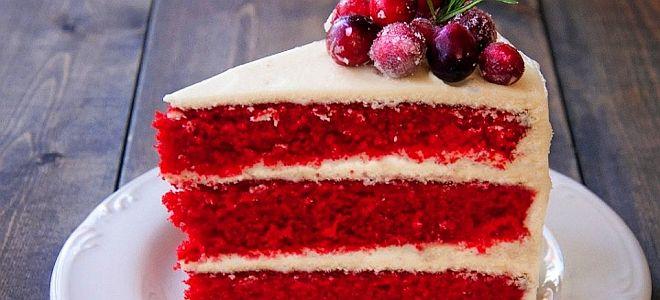 торт красный бархат от рената агзамова рецепт