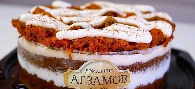 морковный торт от рената агзамова рецепт