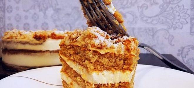 торт медовик от рената агзамова рецепт