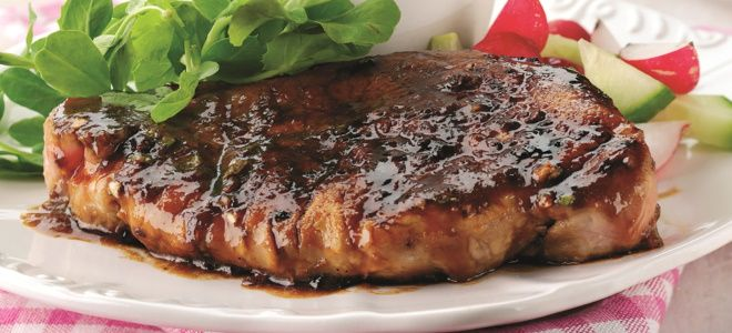 отбивные из свинины в соевом соусе