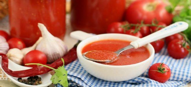 кетчуп из помидоров на зиму как магазинный