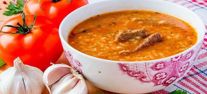 суп харчо из говядины в мультиварке рецепт