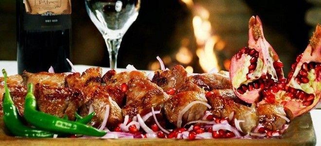 шашлык из свинины с уксусом в духовке