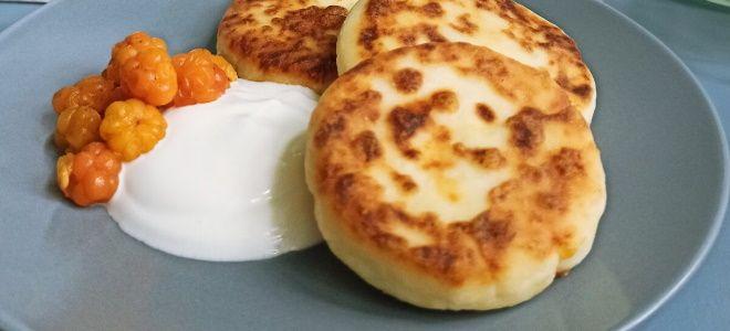 сырники с картофельным крахмалом