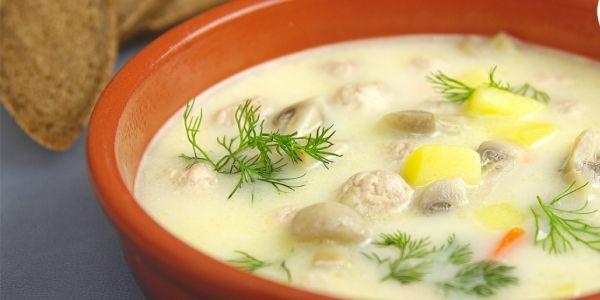 сырный суп с фрикадельками рецепт