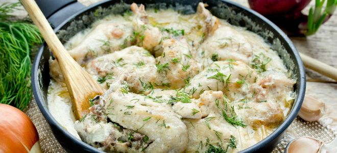 гедлибже из курицы рецепт