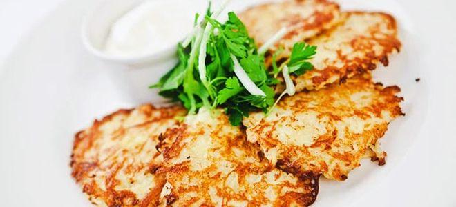 пп картофельные драники рецепт