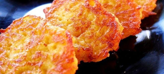 драники из тыквы и картофеля