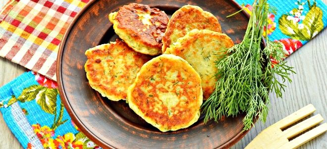 драники из вареной картошки рецепт