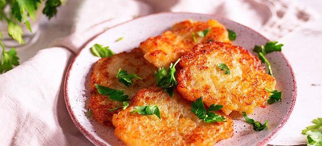 картофельные драники без яиц рецепт