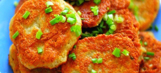 картофельные драники с луком рецепт