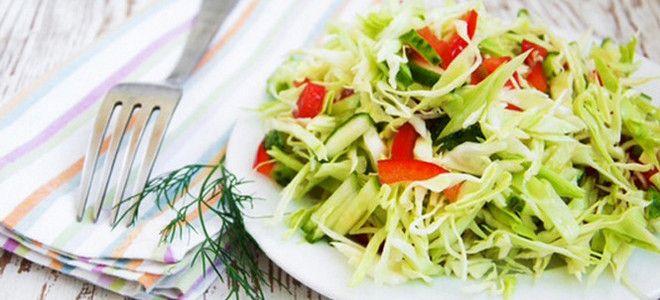 салат из пекинской капусты огурца и перца