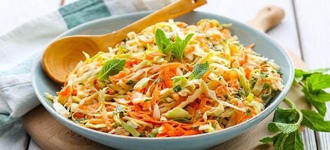 салат из огурца яблока капусты и моркови