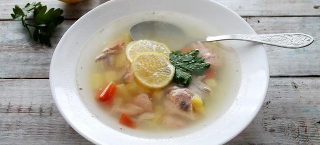 как сварить вкусный рыбный суп из форели