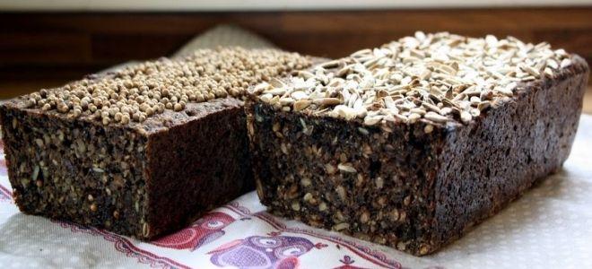 хлеб черный хомяк рецепт