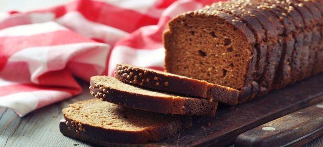 простой рецепт черного хлеба в духовке