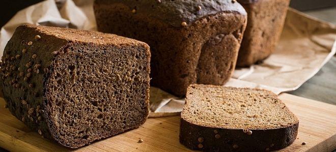 рецепт черного хлеба как в магазине