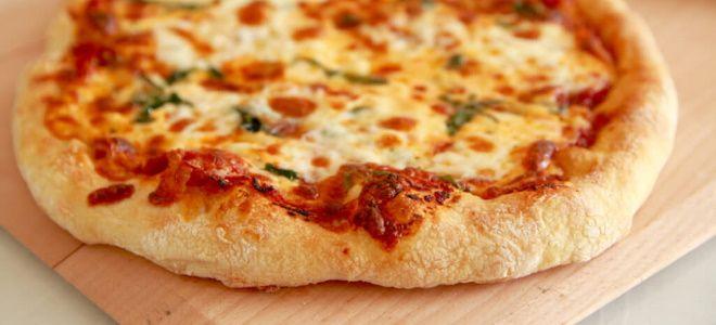 дрожжевое тесто на пиццу как в пиццерии