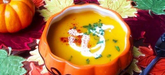 тыквенный суп пюре с сельдереем