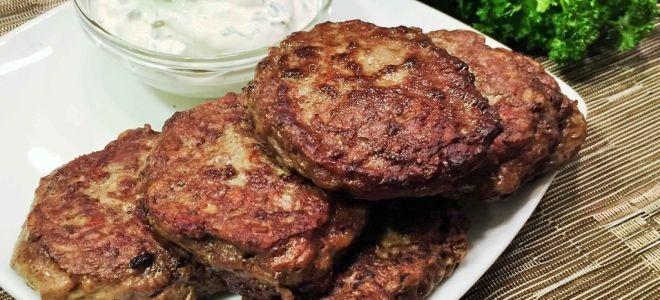 котлеты из говяжьей печени рецепт