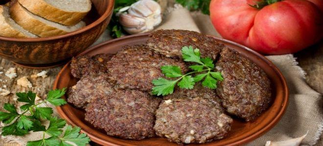 печеночные оладьи из говяжьей печени классический рецепт