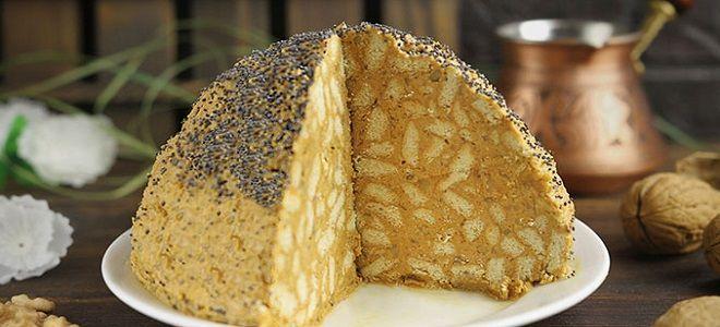 Муравейник из печенья и сгущенки рецепт