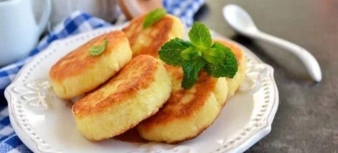сырники из творога с яблоками рецепт