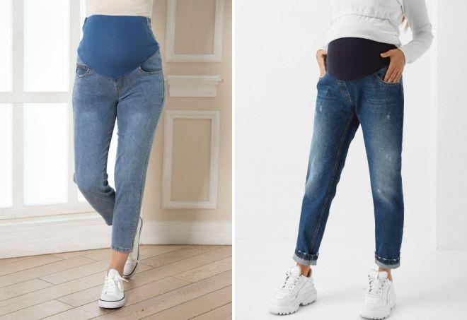 модные фасоны джинсов