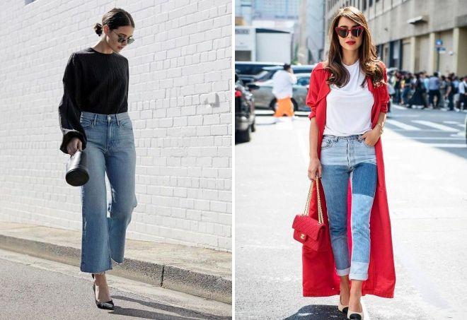модные модели джинсов