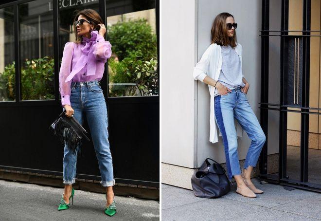 модная длина джинс
