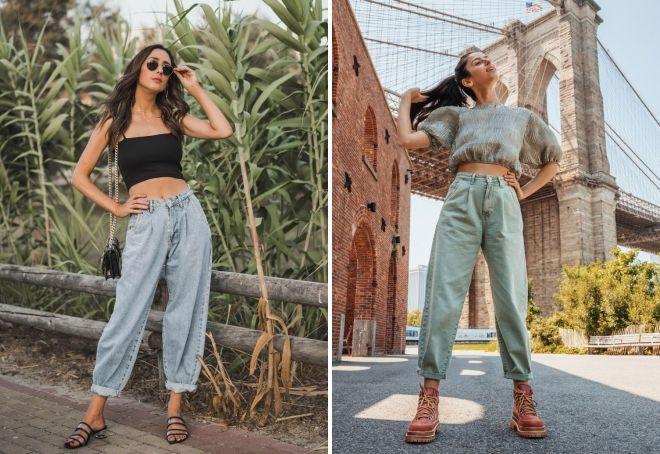 модные джинсы слоучи