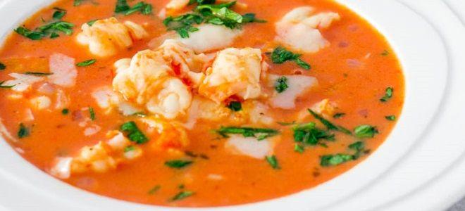 самый вкусный суп с креветками