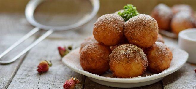 творожные шарики жареные в масле рецепт