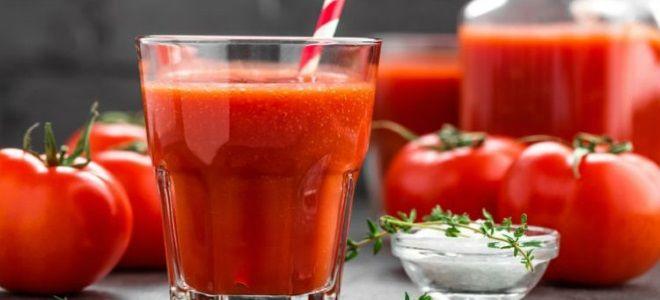 томатный сок с хреном