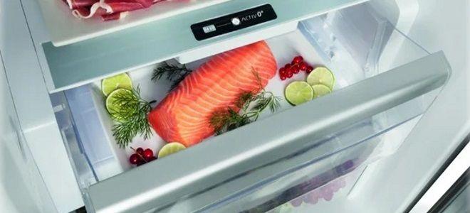 как хранить слабосоленую семгу в холодильнике