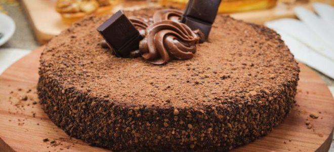 шоколадный бисквит на желтках рецепт