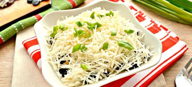 самый вкусный салат с курицей и черносливом