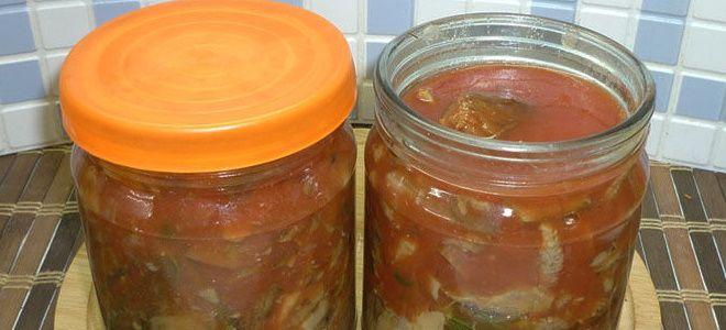грузди маринованные на зиму в томатном соке