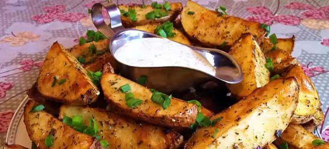 соус для картошки по деревенски
