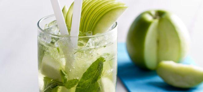 яблочный мохито