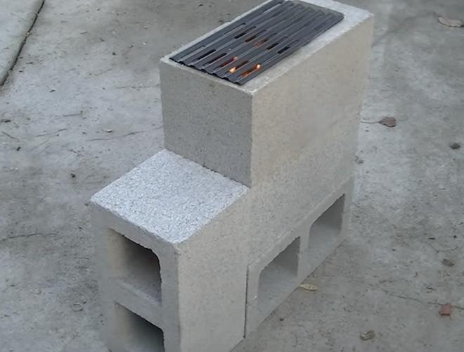 виды садовых печей бетон