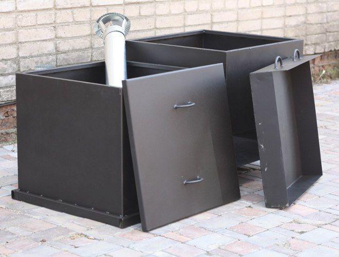 садовая печь для сжигания мусора